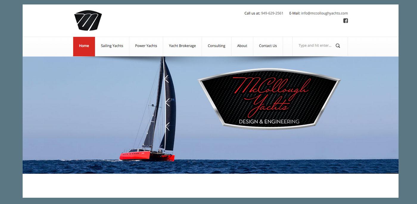 Front Street Shipyard website by Rhumbline Communications